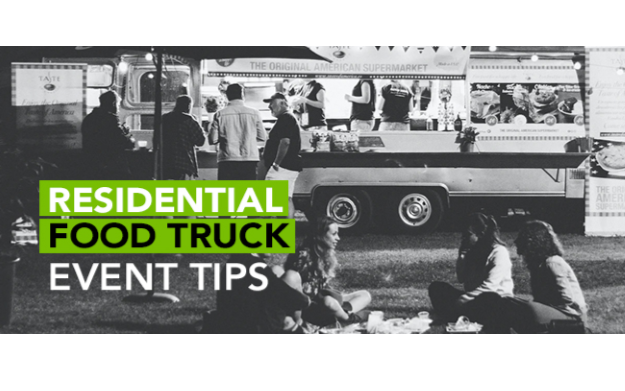 Residential Food Truck Event Tips