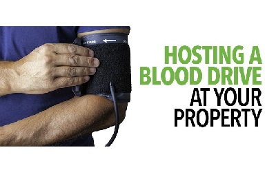 Hosting a Blood Drive at Your Property